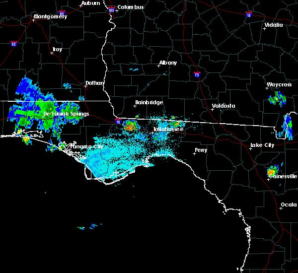 Radar Image for Severe Thunderstorms near Gretna, FL at 7/21/2015 8:21 PM EDT
