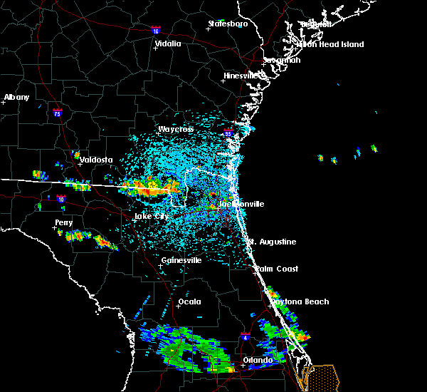 Radar Image for Severe Thunderstorms near Callahan, FL at 7/22/2015 3:09 PM EDT