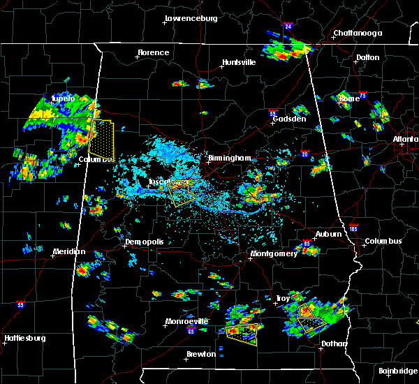 Radar Image for Severe Thunderstorms near West Blocton, AL at 7/22/2015 3:22 PM CDT