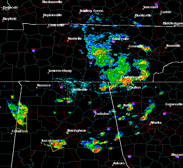 Radar Image for Severe Thunderstorms near Apison, TN at 7/22/2015 4:44 PM EDT