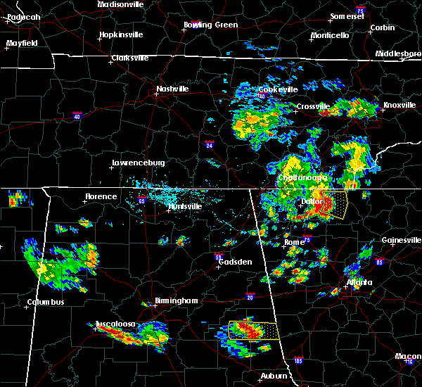 Radar Image for Severe Thunderstorms near Ellijay, GA at 7/22/2015 5:34 PM EDT