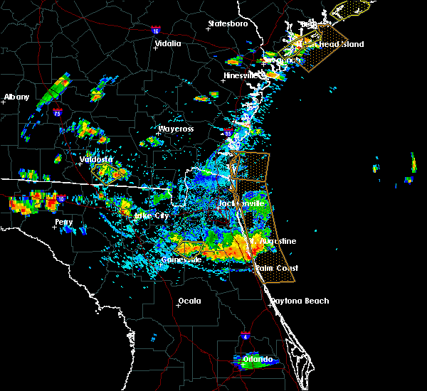 Radar Image for Severe Thunderstorms near Keystone Heights, FL at 7/22/2015 5:53 PM EDT