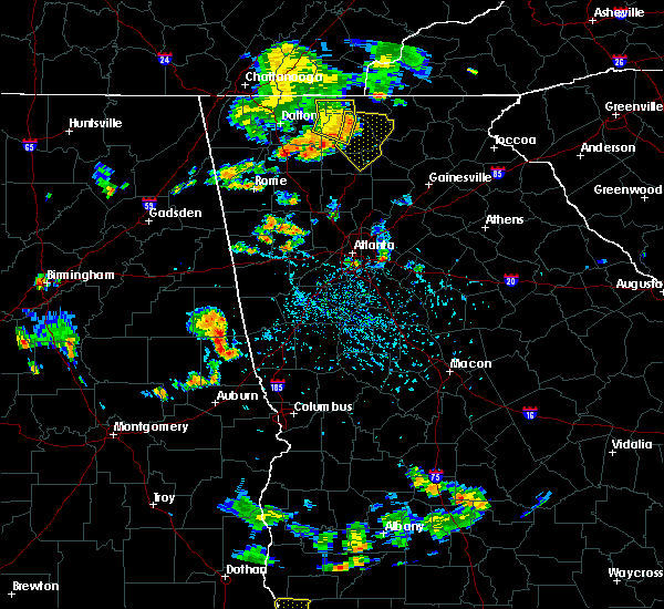 Radar Image for Severe Thunderstorms near Ellijay, GA at 7/22/2015 5:55 PM EDT