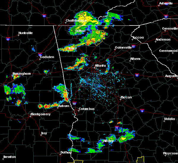 Radar Image for Severe Thunderstorms near Ellijay, GA at 7/22/2015 6:24 PM EDT