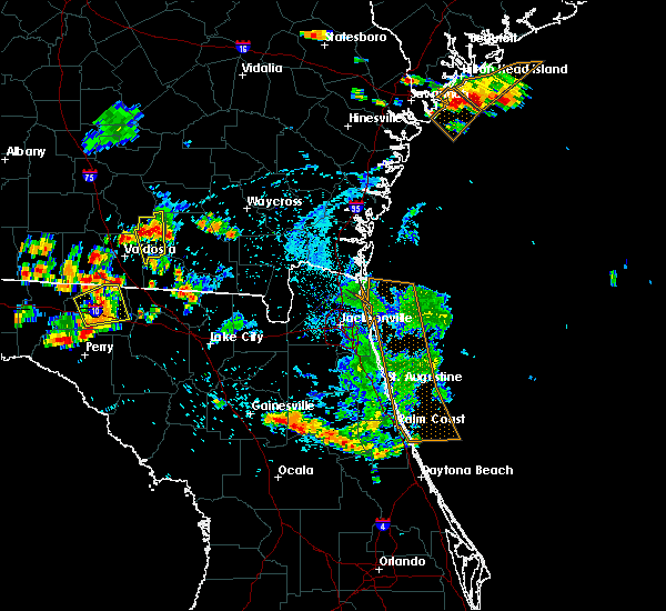 Radar Image for Severe Thunderstorms near Interlachen, FL at 7/22/2015 6:52 PM EDT
