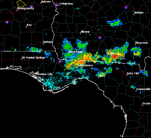 Radar Image for Severe Thunderstorms near Midway, FL at 7/22/2015 7:49 PM EDT