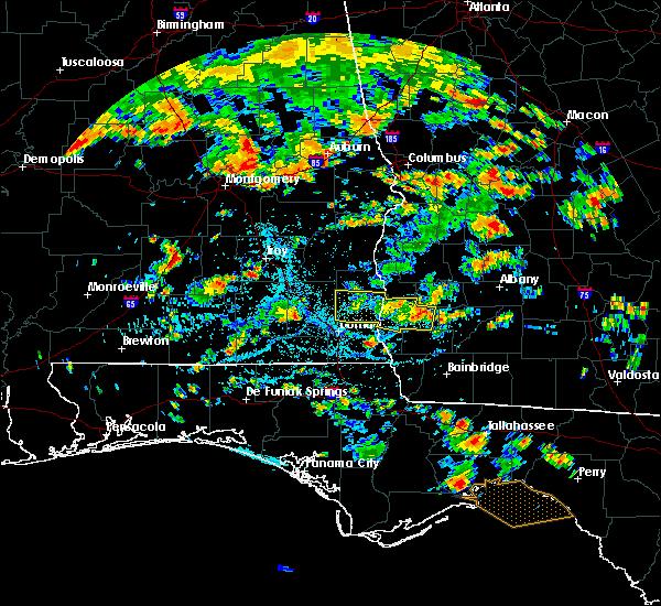 Radar Image for Severe Thunderstorms near Arlington, GA at 7/23/2015 3:35 PM EDT