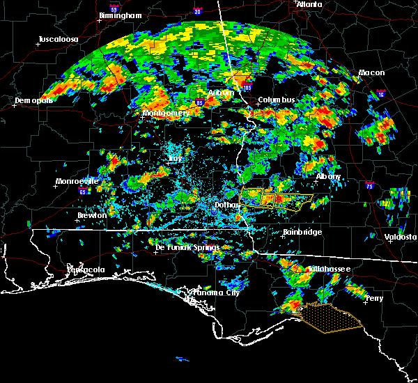Radar Image for Severe Thunderstorms near Arlington, GA at 7/23/2015 3:44 PM EDT