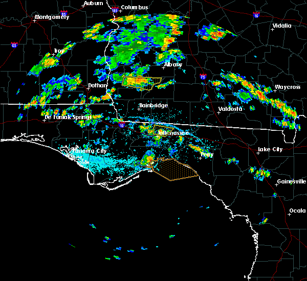 Radar Image for Severe Thunderstorms near Tallahassee, FL at 7/23/2015 3:57 PM EDT
