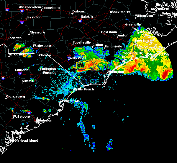 Radar Image for Severe Thunderstorms near Northwest, NC at 7/23/2015 4:24 PM EDT
