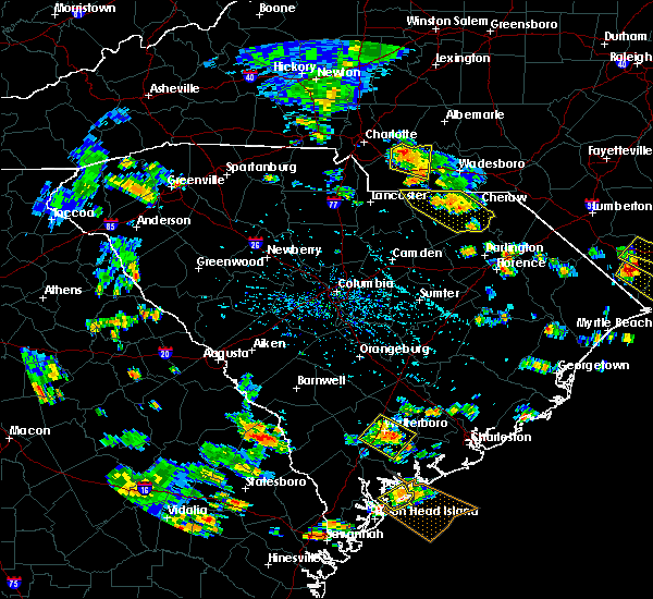 Radar Image for Severe Thunderstorms near Wingate, NC at 7/23/2015 4:56 PM EDT