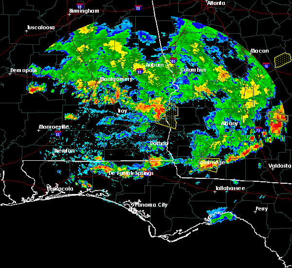 Radar Image for Severe Thunderstorms near Eufaula, AL at 7/23/2015 5:39 PM EDT