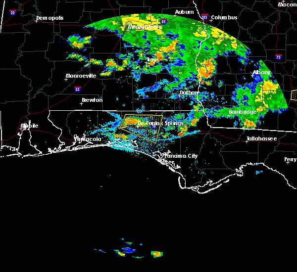Radar Image for Severe Thunderstorms near Ponce de Leon, FL at 7/23/2015 5:19 PM CDT