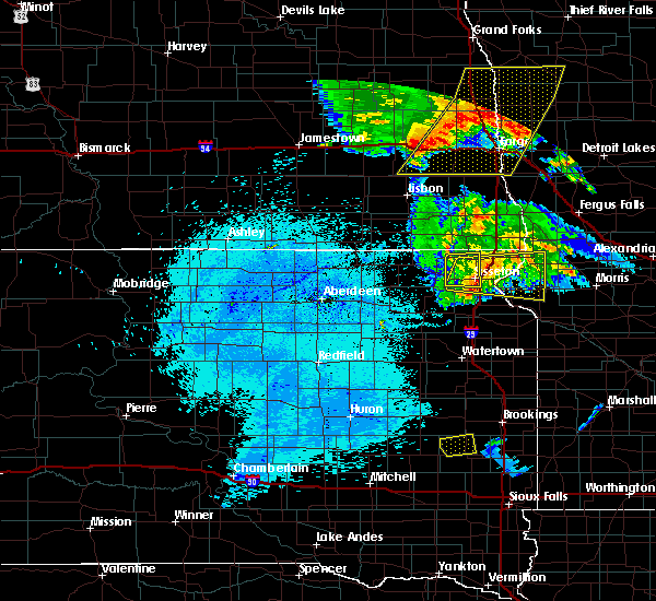 Radar Image for Severe Thunderstorms near Long Hollow, SD at 7/24/2015 12:29 AM CDT