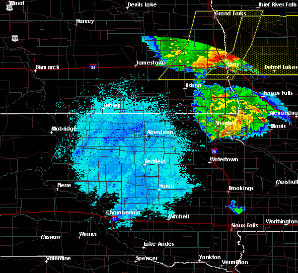 Radar Image for Severe Thunderstorms near Dumont, MN at 7/24/2015 12:41 AM CDT