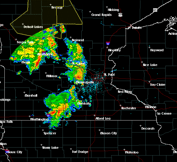 Radar Image for Severe Thunderstorms near Mayer, MN at 7/24/2015 2:09 AM CDT