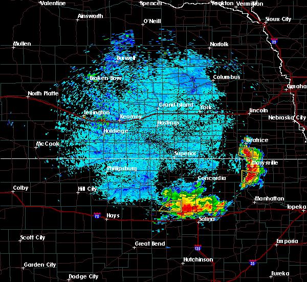 Radar Image for Severe Thunderstorms near Beverly, KS at 7/24/2015 3:59 AM CDT