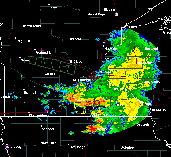 Radar Image for Severe Thunderstorms near Hollandale, MN at 7/24/2015 6:57 AM CDT