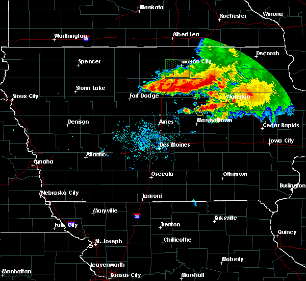 Radar Image for Severe Thunderstorms near Beaman, IA at 7/24/2015 9:39 AM CDT