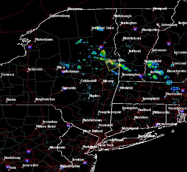 Radar Image for Severe Thunderstorms near Salem, NY at 7/24/2015 2:03 PM EDT