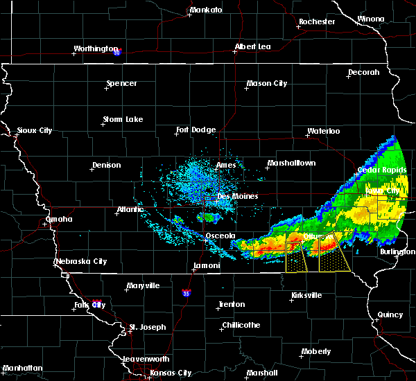 Radar Image for Severe Thunderstorms near Blakesburg, IA at 7/24/2015 1:26 PM CDT