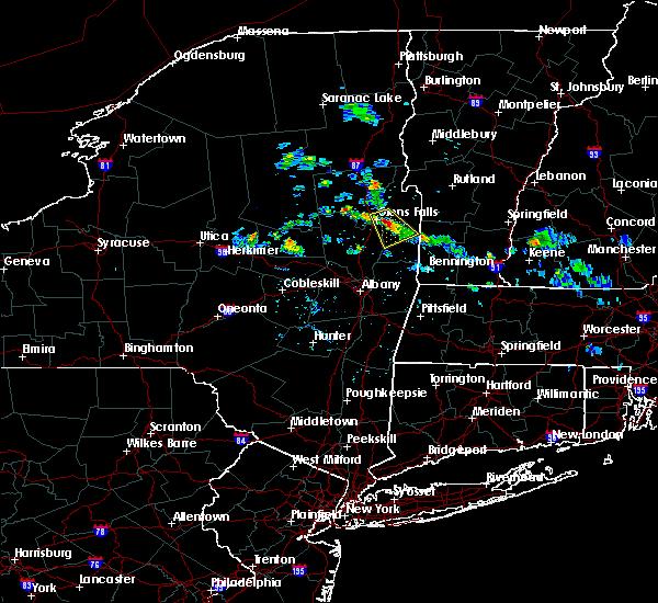 Radar Image for Severe Thunderstorms near Salem, NY at 7/24/2015 2:26 PM EDT
