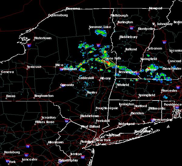 Radar Image for Severe Thunderstorms near Salem, NY at 7/24/2015 2:36 PM EDT