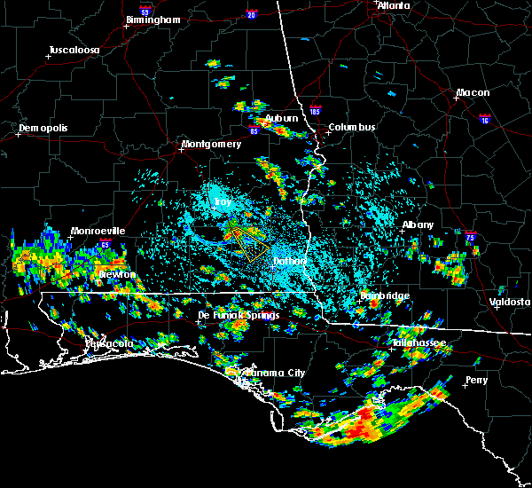 Radar Image for Severe Thunderstorms near Daleville, AL at 7/24/2015 2:24 PM CDT
