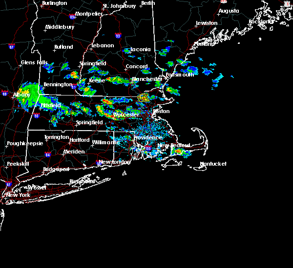 Radar Image for Severe Thunderstorms near Lowell, MA at 7/24/2015 4:07 PM EDT