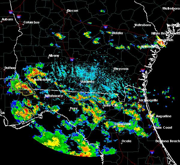Radar Image for Severe Thunderstorms near Madison, FL at 7/24/2015 5:42 PM EDT