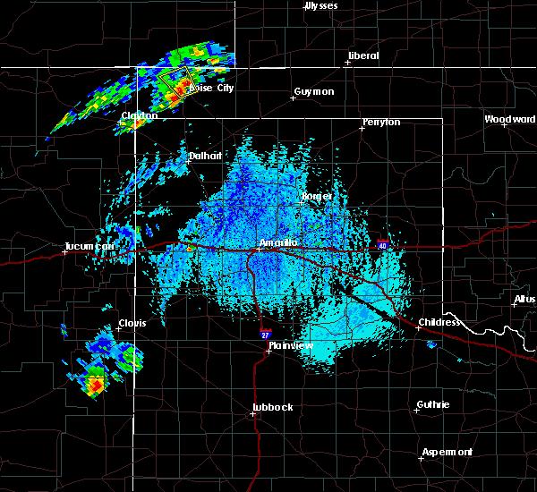 Radar Image for Severe Thunderstorms near Boise City, OK at 7/24/2015 5:07 PM CDT