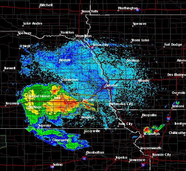Radar Image for Severe Thunderstorms near Douglas, NE at 7/25/2015 12:09 AM CDT