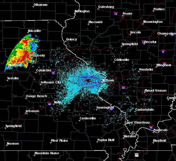 Radar Image for Severe Thunderstorms near Clark, MO at 7/25/2015 2:05 AM CDT