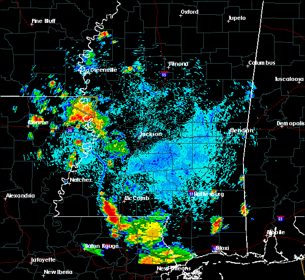 Radar Image for Severe Thunderstorms near Lake Providence, LA at 7/25/2015 6:23 PM CDT
