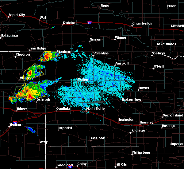 Radar Image for Severe Thunderstorms near Gordon, NE at 7/26/2015 2:26 PM MDT