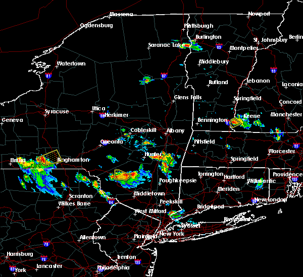 Radar Image for Severe Thunderstorms near Pine Plains, NY at 7/26/2015 4:39 PM EDT