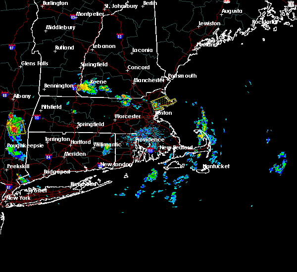 Radar Image for Severe Thunderstorms near Beverly, MA at 7/26/2015 4:42 PM EDT