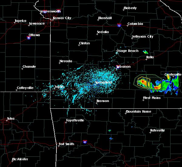 Radar Image for Severe Thunderstorms near Raymondville, MO at 7/26/2015 4:34 PM CDT