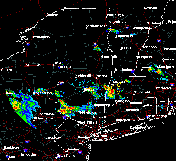 Radar Image for Severe Thunderstorms near Housatonic, MA at 7/26/2015 5:47 PM EDT
