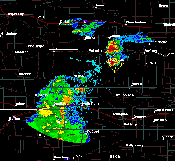 Radar Image for Severe Thunderstorms near Ainsworth, NE at 7/26/2015 7:44 PM CDT
