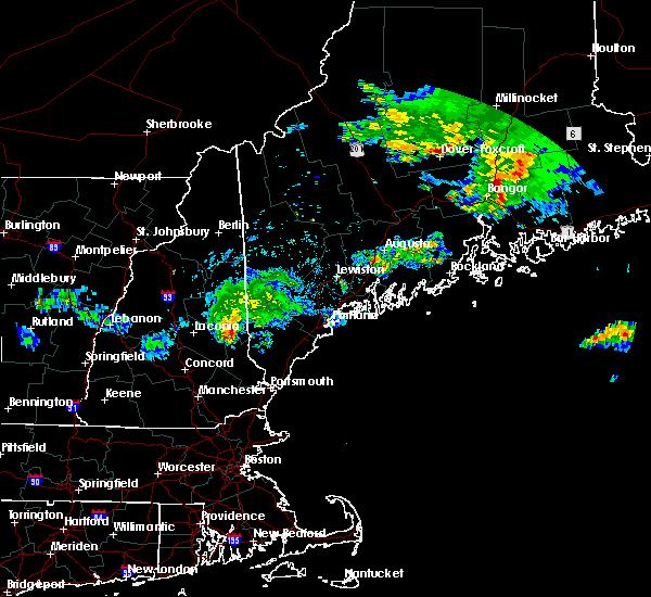 Radar Image for Severe Thunderstorms near Sanford, ME at 7/28/2015 4:49 AM EDT