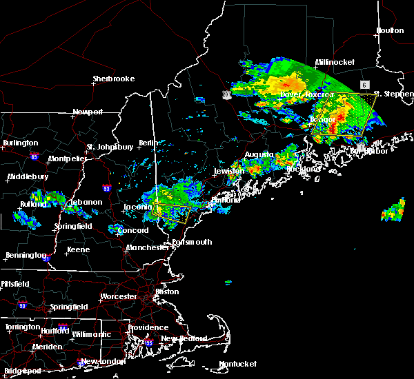 Radar Image for Severe Thunderstorms near Sanford, ME at 7/28/2015 5:15 AM EDT