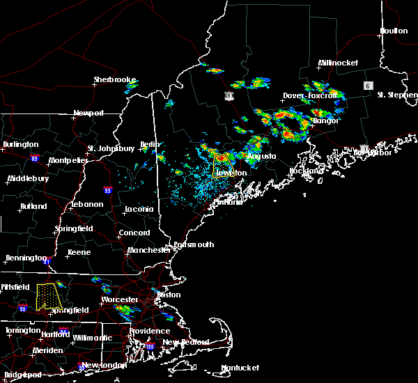 Radar Image for Severe Thunderstorms near Winthrop, ME at 7/28/2015 2:41 PM EDT