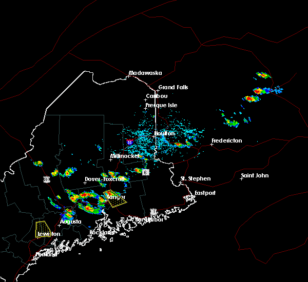 Radar Image for Severe Thunderstorms near Orono, ME at 7/28/2015 2:48 PM EDT