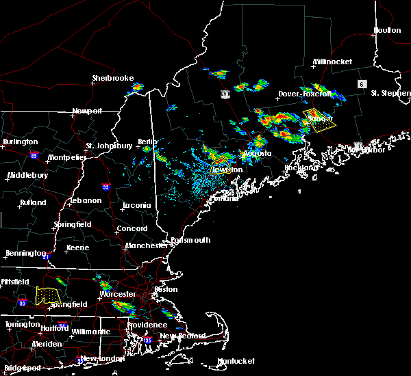 Radar Image for Severe Thunderstorms near Winthrop, ME at 7/28/2015 2:55 PM EDT