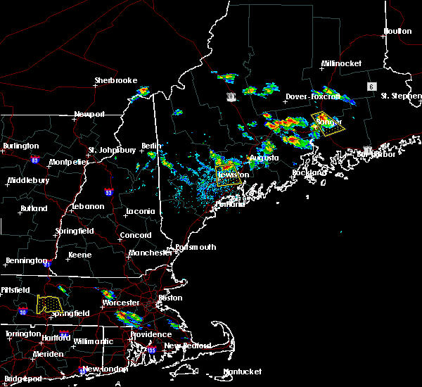 Radar Image for Severe Thunderstorms near Winthrop, ME at 7/28/2015 3:02 PM EDT