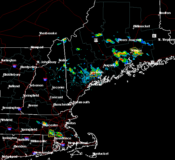 Radar Image for Severe Thunderstorms near Lewiston, ME at 7/28/2015 3:23 PM EDT