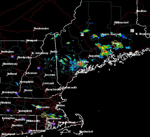 Radar Image for Severe Thunderstorms near Auburn, ME at 7/28/2015 3:32 PM EDT