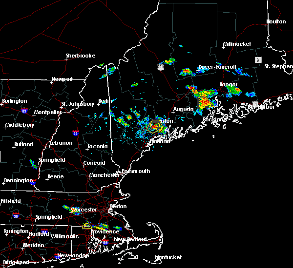 Radar Image for Severe Thunderstorms near Lewiston, ME at 7/28/2015 3:43 PM EDT