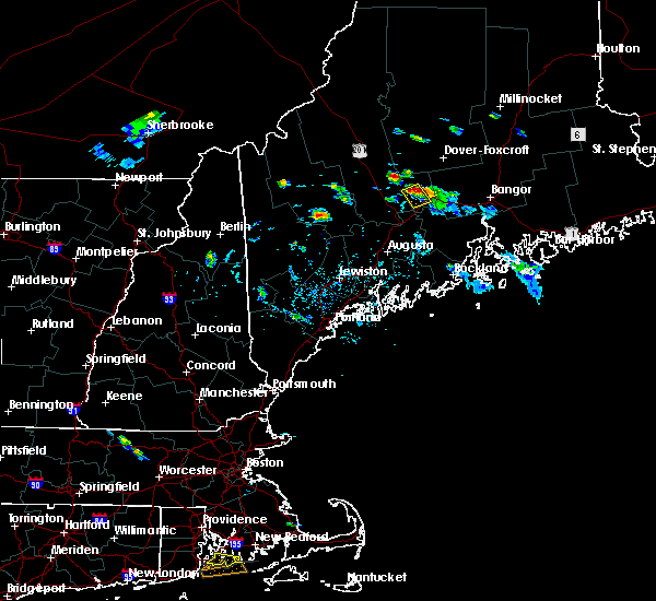 Radar Image for Severe Thunderstorms near Hartland, ME at 7/28/2015 5:24 PM EDT